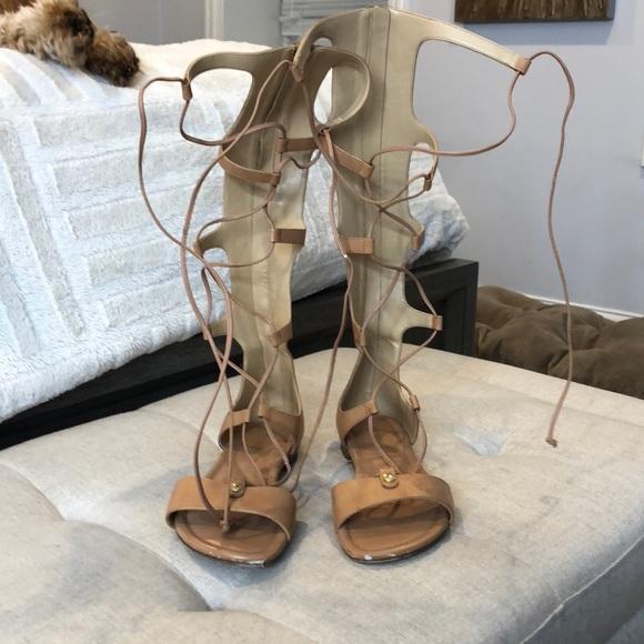Michael Kors Shoes - Michael kors tan gladiator sandals